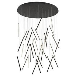 Chute LED Round Multi-Light Pendant