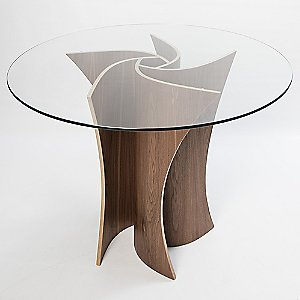 Spiral Dining Table by MacMaster