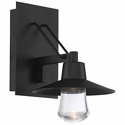 Suspense Outdoor Wall Sconce (Black/Small) - OPEN BOX RETURN