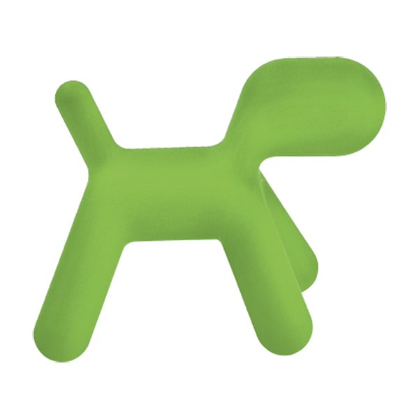 GREEN CHAIR WITH THE SHAPE OF A PONY HORSE