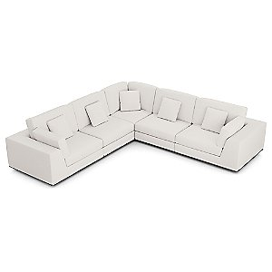 Perry Preconfigured 2 Arm Corner Sectional Sofa by Modloft