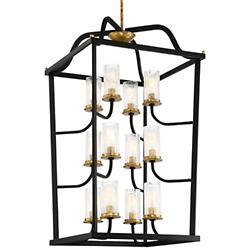 Posh Horizon 12-Light Chandelier