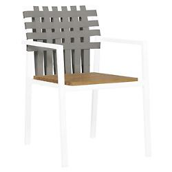 Ekka Stacking Armchair, Teak Seat