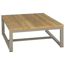 Mono Recycled Teak Square Coffee Table