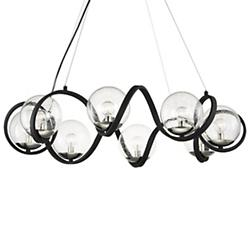 Curlicue 8-Light Chandelier