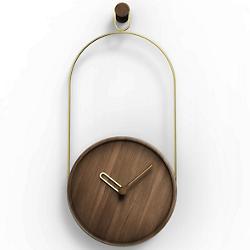Eslabon Walnut Wall Clock
