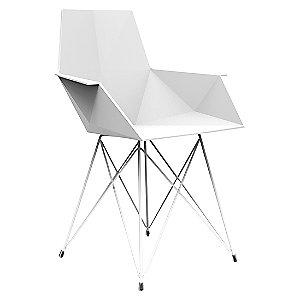 Faz Armchair with Steel Base Set of 4 by Vondom