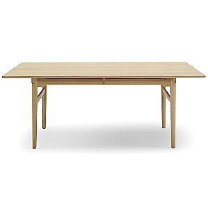 CH327 Dining Table with Two Leaves by Carl Hansen