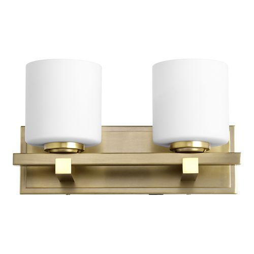 Cylinder 2-Light Wall Sconce