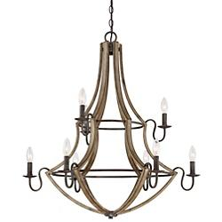 Shire 2-Tier Chandelier