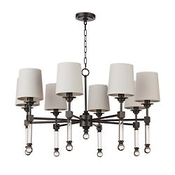 Crystal Tail Chandelier Large