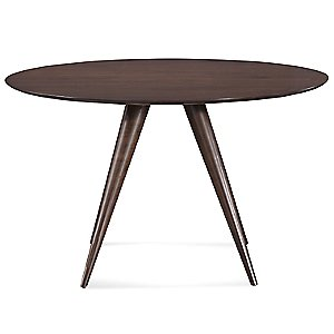 Iris Round Dining Table - Strata Top by Saloom Furniture