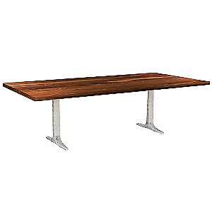 Apollo Straight Edge Dining Table by Saloom Furniture