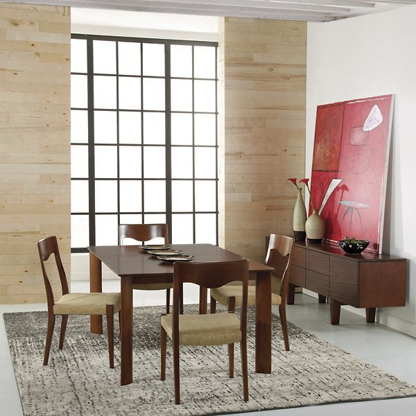 Saloom Furniture Ari Dining Table Sswi 4260 Ari Chocolate Size 42 X 60