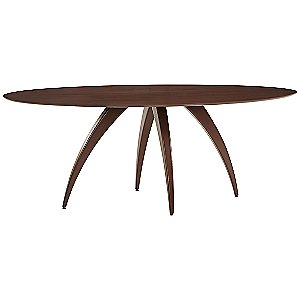 Ella Ellipse Dining Table by Saloom Furniture