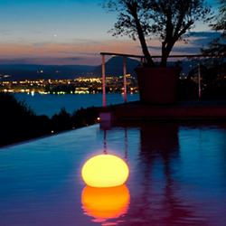 Flatball Bluetooth XXS Floating LED Indoor/Outdoor Lamp