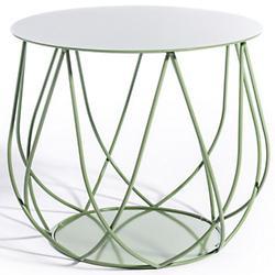 RESÖ Side Table, Crossed Bars