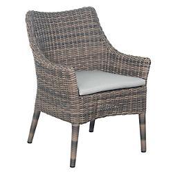 Provenance Wicker Leeward Outdoor Dining Chair, Set of 2