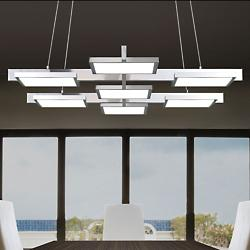 Panels 7-Light LED Linear Suspension