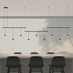 Suspender 36 Inch 3-Bar Offset LED Linear Suspension