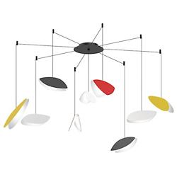 Papillons Swag LED Pendant