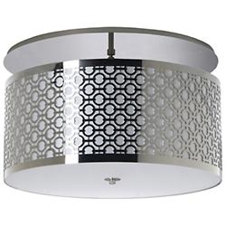 Brentwood Side Pattern Semi-Flushmount