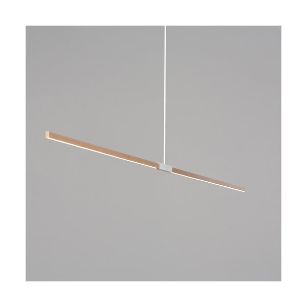 10 Foot LED Linear Pendant by Stickbulb PEND 10FT EO PB 3000 120 SB 60 F