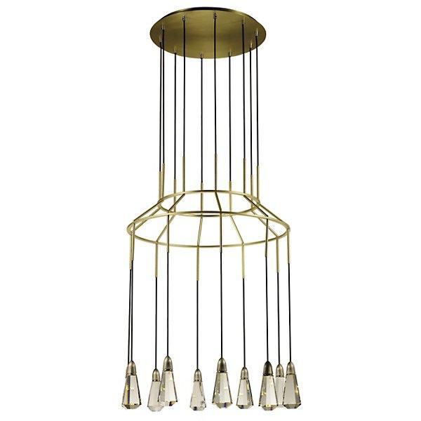 10 Carats LED Chandelier by Studio M SM23785BCSNSBR