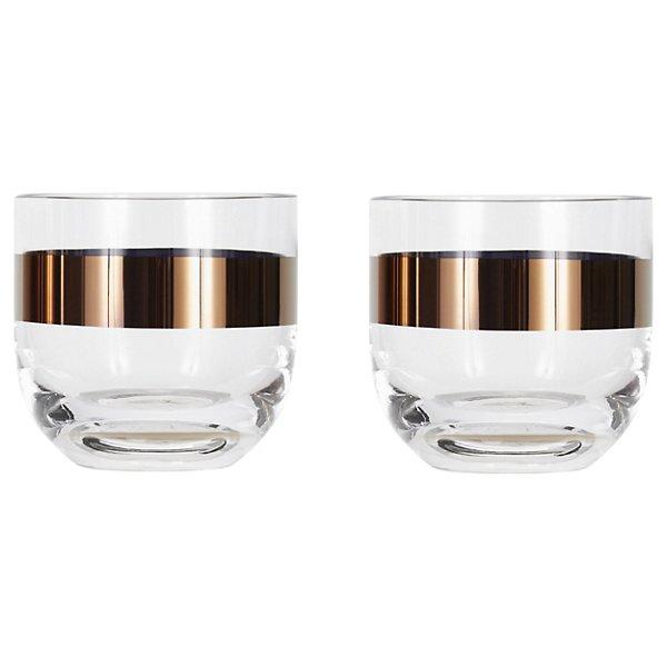Tom Dixon Tank Whiskey Glass Set of 2 - TKT06