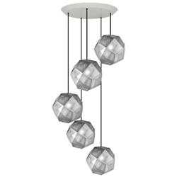 Etch Round Multi-Light Pendant