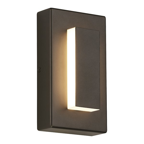 Ebb Led Outdoor Wall Sconce By Tech, Outdoor Light Sconce