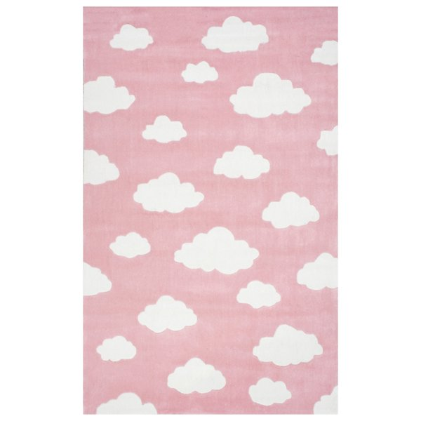 Nuloom Cloudy Sachiko Rug - Bhev28b-76096 - Size: 7 Ft 6  X 9 Ft 6