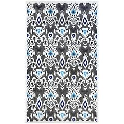 Charlotte Outdoor Ikat Area Rug