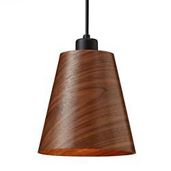 Designer Wood LED Mini Pendant