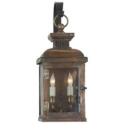 Suffork Scroll Arm Outdoor Wall Sconce