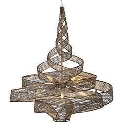 Flow 6-Light Large Twist Pendant