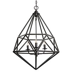 Facet 3-Light Pendant