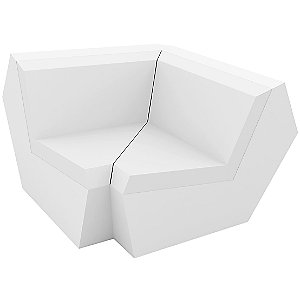Faz Sofa 90 Degree Corner Section by Vondom