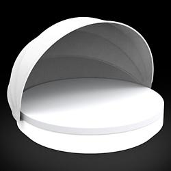 Vela Basic Round Daybed folding sunroof Illuminated