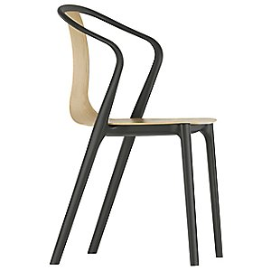 Belleville Armchair - Wood by Vitra