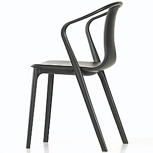 Belleville Armchair - Leather by Vitra