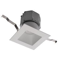 Pop-in 4in LED Square Remodel Recessed Downlight Multi-Pack