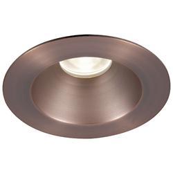 Tesla 3.5-Inch Pro LED Round Open Reflector Shower Light High Output Trim