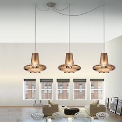 Romeo&Giulietta 3-Light Multi-Light Pendant - Metallic