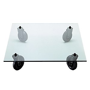 Square Tavolo con ruote Coffee Table by FontanaArte