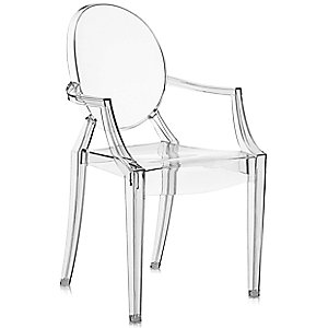 Lou Lou Ghost Child's Armchair by Kartell