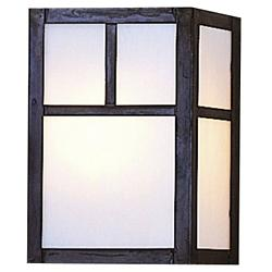 Mission Flush Wall Sconce