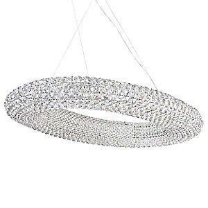 Cassini Oval Suspension by Schonbek Lighting