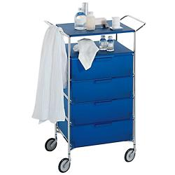 Mobil Cabinet with Shelf and Handles