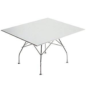 Glossy Square Table by Kartell